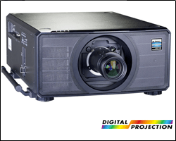 digital projection 18k wuxga laser projector