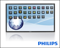 philips touchscreen 55